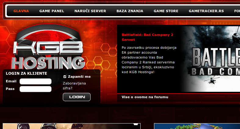Free Game, Video, PHP and Blog Hosting: Game Hosting